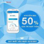 Mobifone khuyến mãi 1/12/2017 với 3 chương trình ưu đãi