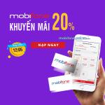 Mobifone khuyến mãi 12/5/2018 ưu đãi cục bộ cho thuê bao trả trước