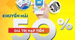 Mobifone khuyến mãi 27/10/2017 tặng 50% tiền nạp
