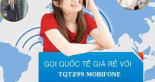 Đăng ký gói TQT299 Mobifone giá 299.000đ