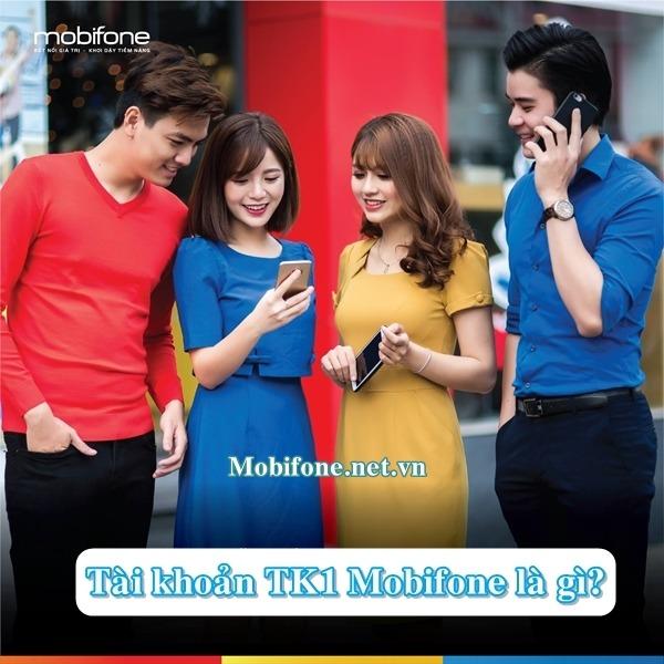 Tài khoản TK1 Mobifone tài khoản dự trữ