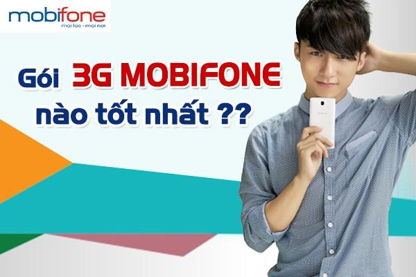Bảng giá cước 3G Mobifone mới nhất