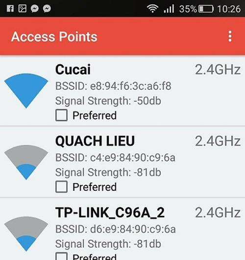 Smartphone luôn bắt sóng Wi-Fi mạnh nhất