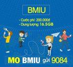 Đăng ký gói cước BMIU Mobifone chỉ 200.000đ/tháng