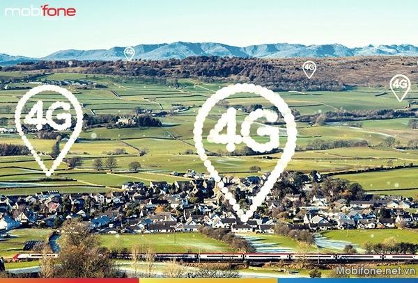 Cập nhật các vùng phủ sóng 4G Mobifone năm 2018