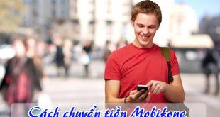 cách chuyển tiền Mobifone