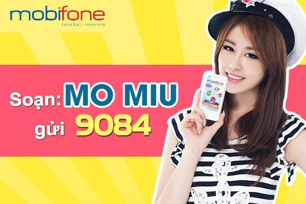 Cách cài đặt gói cước MIU Mobifone
