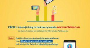 2 Cách cập nhật thông tin Mobifone tại nhà