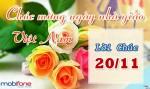 Cùng 3G Mobifone nhắn gửi lời yêu thương nhân dịp ngày 20/11