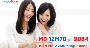 gói cước 12M70 Mobifone