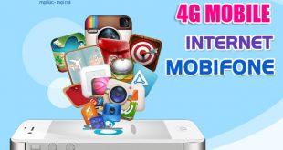 Đăng ký gói cước 4G Mobifone