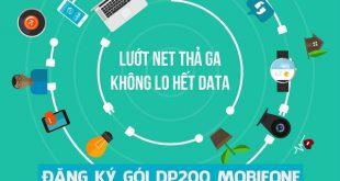 Đăng ký gói cước DP200 Mobifone chỉ 200.000đ/tháng