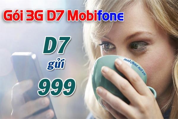Đăng ký gói cước D7 Mobifone