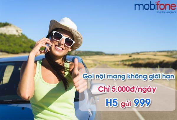 đăng ký gói cước H5 Mobifone