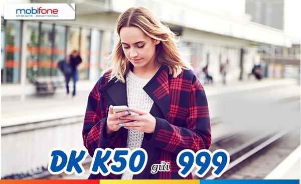 Gói cước K50 Mobifone