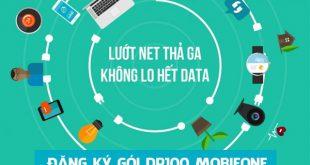 Cách đăng ký gói cước Data Plus DP100 Mobifone