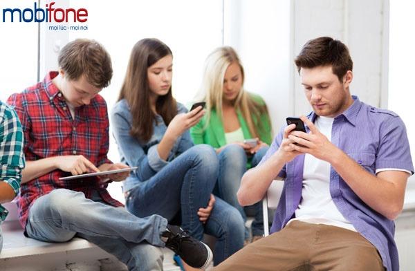 đăng ký gói gọi và sms cho sim sinh viên Mobifone