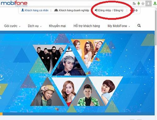 cách đăng ký tài khoản Portal Mobifone