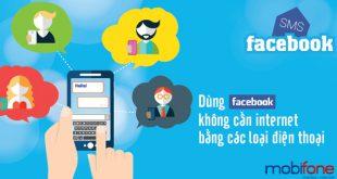 Đăng ký dịch vụ Facebook SMS của Mobifone