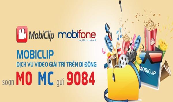 Dịch vụ MobiClip Mobifone