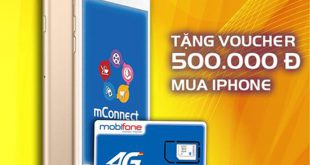 doi sim 4g mobifone cung mconnect tang voucher