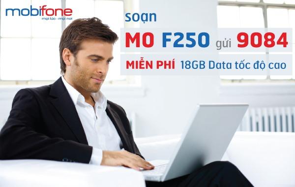 Đăng ký gói F250 Mobifone cho Fast Connect