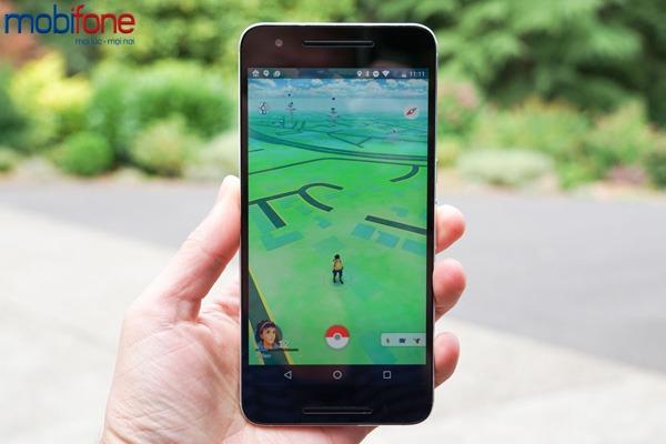 gói cước 3G Mobifone chơi Pokemon Go