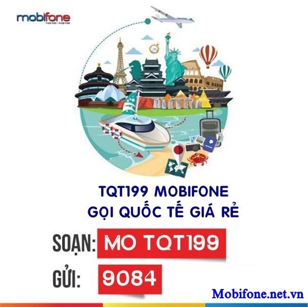Đăng ký gói TQT199 Mobifone giá chỉ 199.000đ