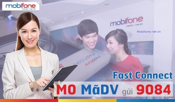 Các gói cước 4G Fast Connect Mobifone mới nhất