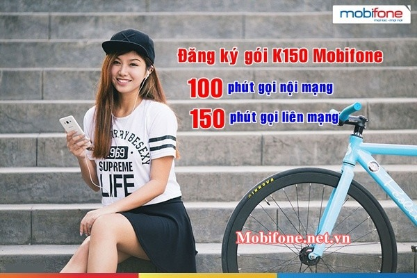 Đăng ký gói K150 Mobifone ưu đãi liên lạc hấp dẫn