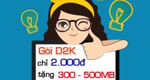 gói cước D2K Mobifone