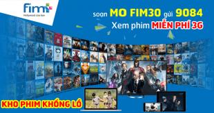 Gói cước FIM30 Mobifone