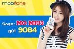 Gói cước MIU3 Mobifone