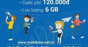 Đăng ký gói cước HD120 Mobifone chỉ 120.000đ/tháng