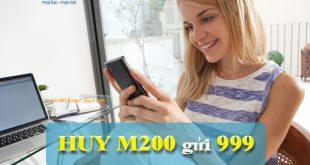 huỷ gói cước M200 Mobifone