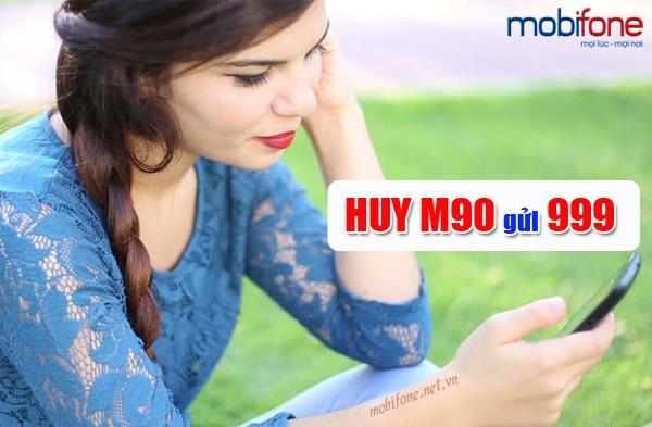 huỷ gói cước M90 Mobifone