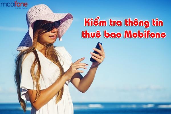 kiểm tra thông tin thuê bao Mobifone