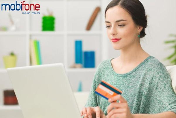 khuyến mãi nạp tiền trực tuyến Mobifone tặng 50%