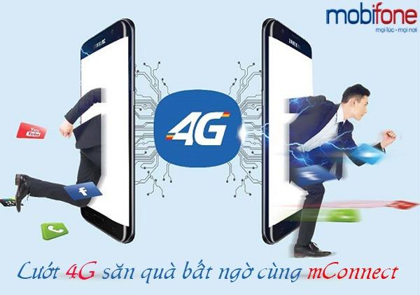 Cùng mConnect Mobifone lướt 4G nhận quà tặng bất ngờ