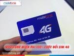 Miễn phí đổi sim 4G Mobifone cho khách hàng trên toàn quốc