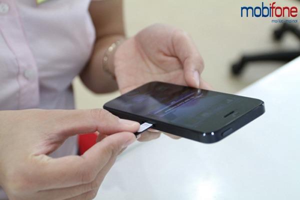Miễn phí 100% cước đổi sim 4G Mobifone trên toàn quốc