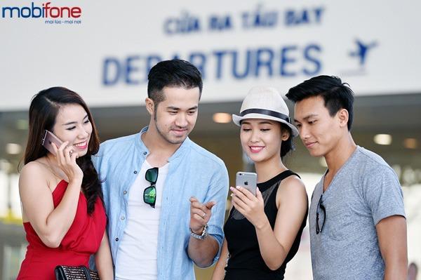 Khuyến mãi giảm 50% cước data chuyển vùng quốc tế Mobifone