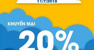 Mobifone khuyến mãi 11/7/2018 ưu đãi ngày vàng toàn quốc