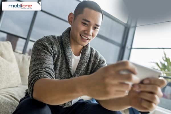 Mobifone khuyến mãi 50% giá trị thẻ nạp ngày 10/3/2017