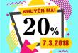 Mobifone khuyến mãi 7/3/2018 ưu đãi NGÀY VÀNG toàn quốc