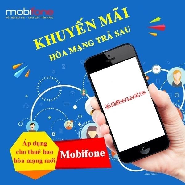 Đăng ký hòa mạng trả sau Mobifone