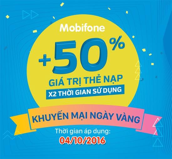 Mobifone khuyến mãi