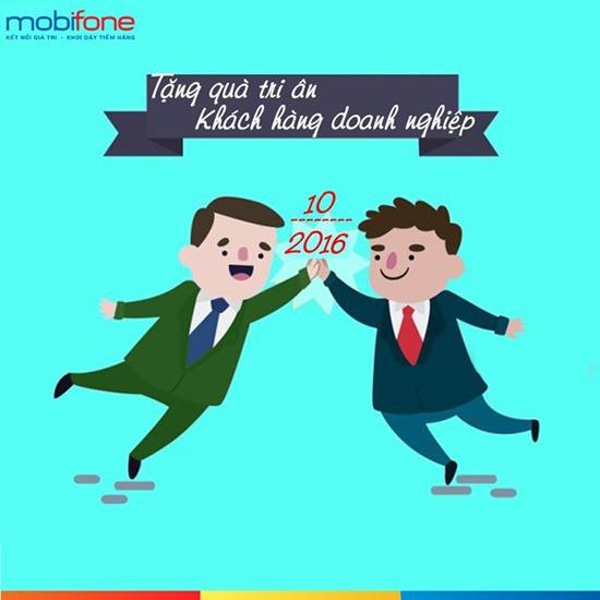 Mobifone tặng quà tri ân khách hàng doanh nghiệp tháng 10