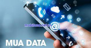 Mua data bằng tài khoản khuyến mãi Mobifone
