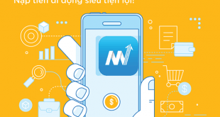 Hướng dẫn nạp tiền QR code qua ứng dụng Mobifone NEXT
